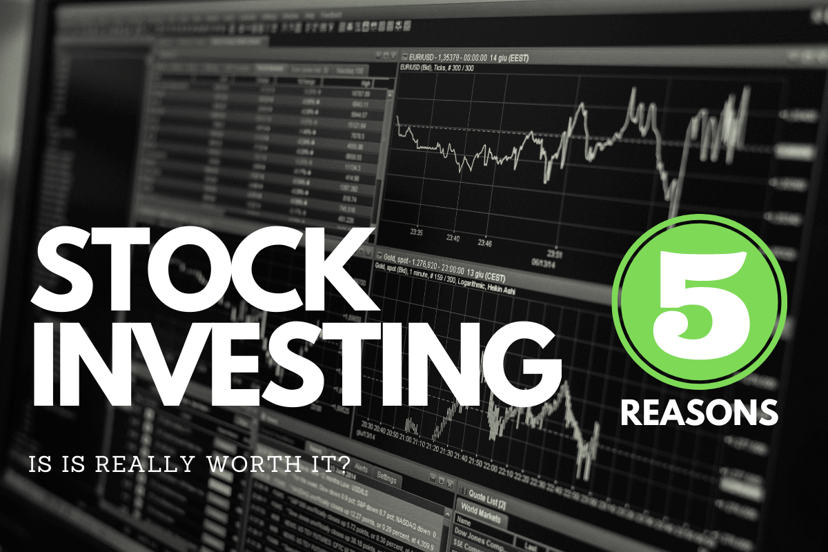 5 reasons to invest in stocks